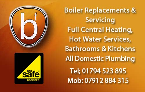 Romsey Plumber - Heating Specialist and domestic plumber